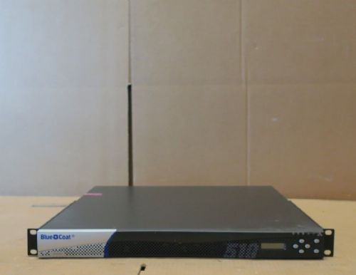Bluecoat ProxySG 510 - Security Appliance 1U Rackmount - NO LICENSE